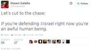 Twitter-_-stevesalaita_-Lets-cut-to-the-chase_-If-defending-Israel-horrible-person