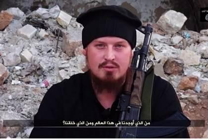 German convert jihadist in Syria