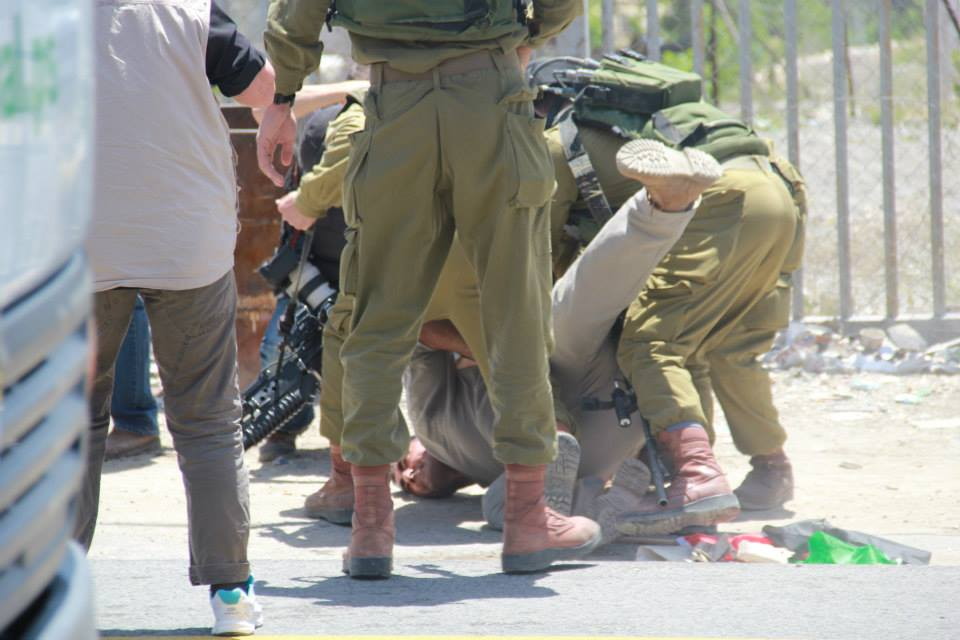 Beit Ommar protest, 17 May 2014.