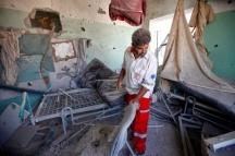 Al-Aqsa hospital hit as strikes on Gaza's medical facilities continue