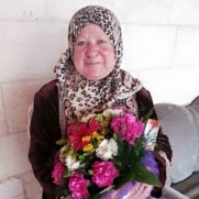A photo of Thawrat al-Sharawi, 72, who was shot dead by Israeli soldiers while driving her car in Hebron on 6 November 2015 (Facebook)