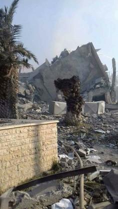 NATO BOMBING SYRIA!